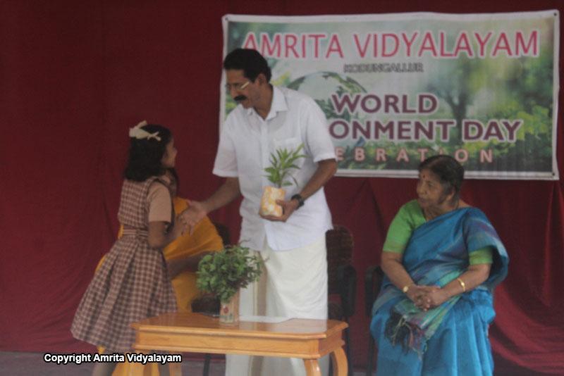 World Environment Day Celebration 2018 - Amrita Vidyalayams
